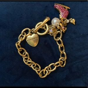 Jewelry - Betsy Johnson bracelet with ice skate